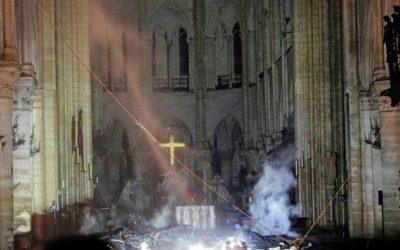 Notre Église en feu …