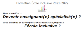 Formation Ecole Inclusive 2020-2021